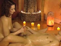 Erotic Handjob Massage From Asia