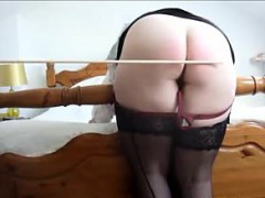 Spanking Her Ass Before She Masturbates For Me