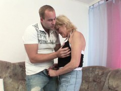 German Grandma Get Fucked By Young Boy After School