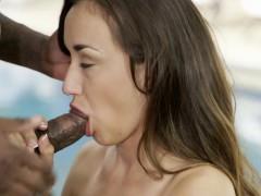 blacked bored girlfriend victoria rae black fucks a bbc