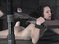 restrained-bdsm-sub-punished-with-bastinado