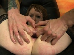 Getting All Her Holes Pounded Hard By Big Cock