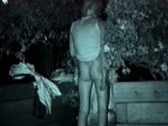 Midnight Outdoor Sexual Excitement Couples