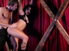 Asian Bondage Stripper Fucked In A Sex Swing