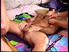 Four Hot Muscle Studs In A Daisy Chain Cbt Session Where