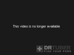 Restrained Slut Handling Double Toy Penetration