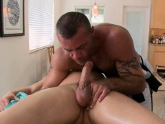 Explicit Anal Fucking For Man During Massage