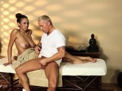 Smart Busty Babes In Secret Massage Saloon