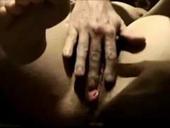 He Loves Playing With Her Mature Vagina