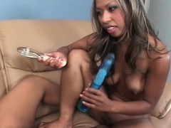 Naked Ebony Gfs Masturbating With Sex Toys