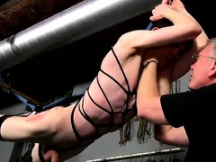 Cum Inside Ass Tube Gay Porn The Poor Twink Is Stringing Up