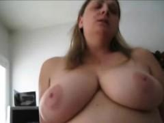 Horny Bbw Wife Riding Her Hubby Pov