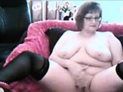 Hot Granny Webcam Teasing