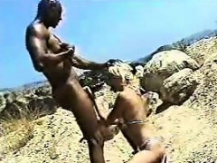 Blonde Fucks the Black Guy