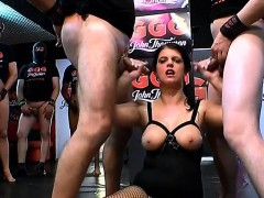 German Babes In Gangbang Actions