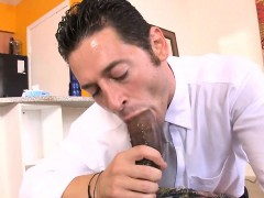 Monster Cock Slammed Into This Gay Rectal Hole