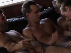 My First Gay Sex Poor James Takes An Onslaught Of Cock!