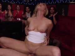 Blowjob At The Club In The Group