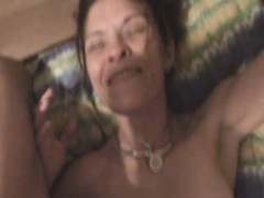 Brunette Crack Whore Sucking Dick And Having A Smoke