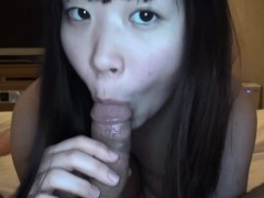 Japanese Chick Wears A Mask Until She Sucks His Dick And Ri