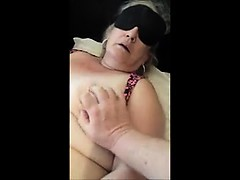 Orgasms together with her vibe