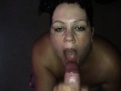 Milf Pushing And Stroking A Penis That Is Fat