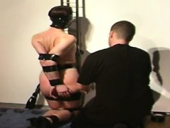 Flexible Babe Gets Tied Up And Gagged