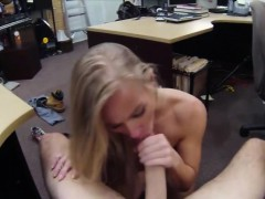 Blonde Babe Sells Her Car And Her Twat Then Gets Fucked