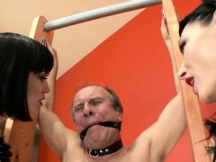 two-brunettes-torture-their-submissive