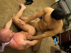 Buff Dude Gets His Ass Impaled On Cock By His Horny Coworker