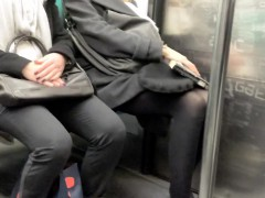 spy-camera-footage-of-women-with-nice-legs-sitting-on-the-t