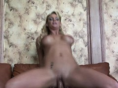 Reverse Cowgirl Riding With The Perky Phoenix Marie