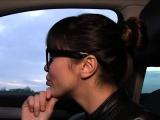 Beautiful Czech babe bangs in public pov