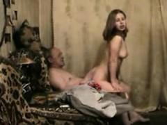Old Man Young Girl Fuck Retha