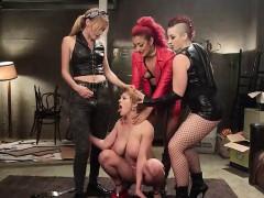 Darling, Mistress Kara, Daisy Ducati And Mona Wales