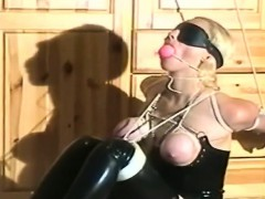 Blonde Babe Gets Tied Up And Tortured By Her Lover