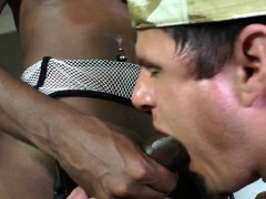 Busty Black Tgril Cocksucked By Whiteboy