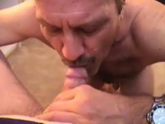 Mature Amateur Cock Sucking Threesome