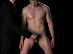 Cute Mormon Twink Getting A Handjob From Clothed Older Guy