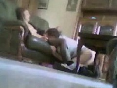 Cougar And Dad Having Sex In Livin Wendi