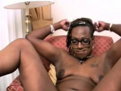 Ebony T girl Next Door Slurps A Massive White Meat In Pov