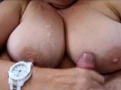 cumming-all-over-her-big-fat-milf-titties
