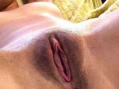 Izzy Bell Shows Off Her Masturbation With Hitachi Wand
