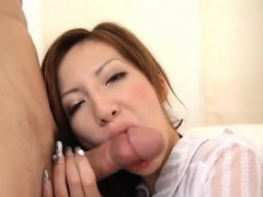 Mirai Uses Her Lips And Tight Pussy To Devour A Big Dick