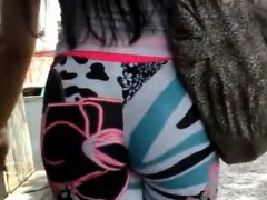 Stalking The Streets Pervert Shoot A Hot Pants Will