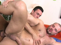 Cute Homosexual Lad Is Given A Lusty Spooning During Massage
