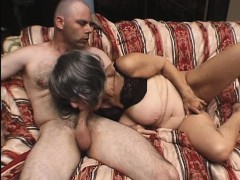 granny gets banged by a young stud