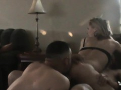 Cuckold Cleaning The Bbc Penis Up