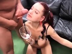 Flexi German Teens First Anal Orgy