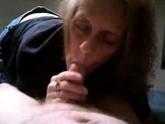Grandma Blowjob And Cum Trudi